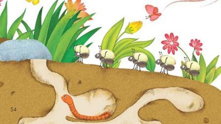 人教版小学一年级语文下册课文朗读 识字五《动物儿歌》, 让爸爸妈妈陪小朋友一起朗读