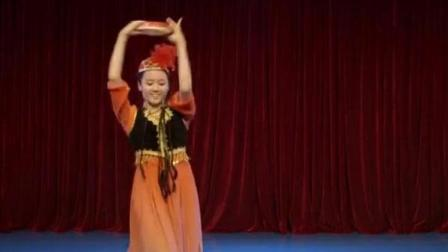 女子民族舞 新疆舞《达甫姑娘》独舞 中央民族大学