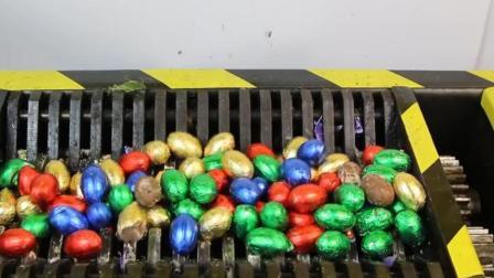 把100个复活节彩蛋放入粉碎机中, 启动开关, 彩蛋能坚持多久?