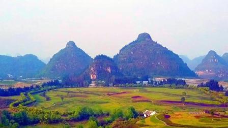 航拍贵州最美山峰, 大自然的鬼斧神工
