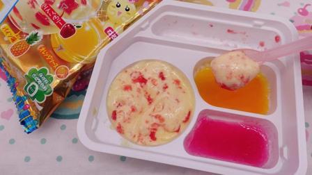 爱茉莉儿的食玩世界 日本食玩缤纷果味搅搅拌拌棉花糖