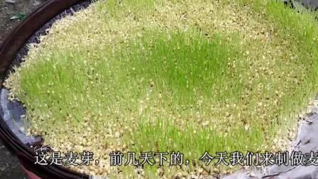 正宗的麦芽糖制作过程, 原料只有麦芽和大米, 吃了不会腻