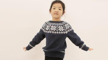 织一片慢生活   提花套头毛衣编织教程  下集