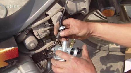 摩托车化油器正确安装方法, 这样安装车子才好启动