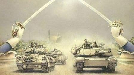 美军为抵御苏军钢铁洪流向自己扔核弹《冲突世界苏联进攻》第五期