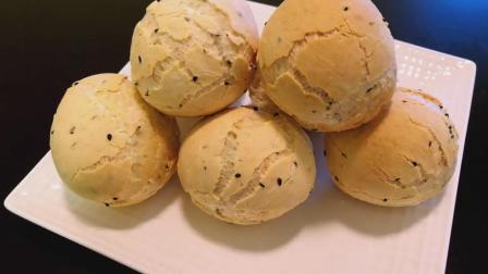 韩国麻薯面包, Q弹不粘牙, 免揉免发酵