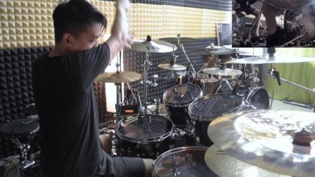 《精彩翻奏》香港鼓手Wilfred Ho翻奏Trivium - Thrown Into The Fire