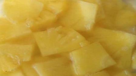自制菠萝罐头 无任何添加给孩子吃着放心