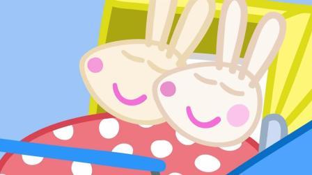 小猪佩奇第五季: 1664兔妈妈生了一对儿双胞胎宝宝, 他们的名字是罗西和罗比