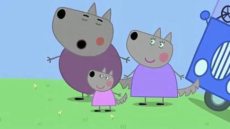小猪佩奇第五季: 兔子先生是房屋监察员, 他这智商够吗? 房子造好啦