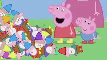 小猪佩奇第五季: 佩琪说这是一口许愿井, 都前来许愿, 这是该有多傻呀