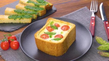 披萨芝士面包盅, 懒人快手菜肴
