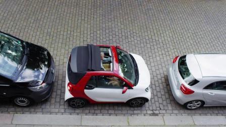 smart敞篷版! 它真的是一款很适合女神开的车!