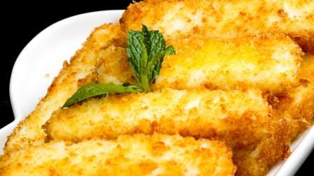 炸鲜奶奶香四溢酥脆香甜的秘诀,广州名厨亲自示范!