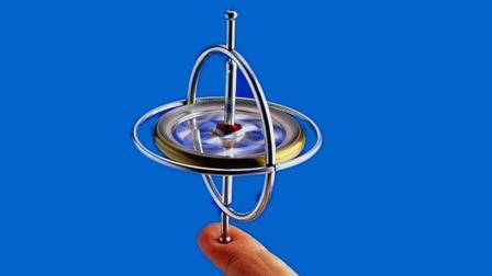 神器陀螺仪的最酷玩法--用绳子吊起来玩