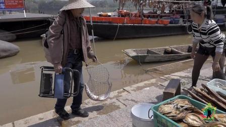 刚从江里钓上来的鱼, 叫价200, 懂行的看看值不值这个价