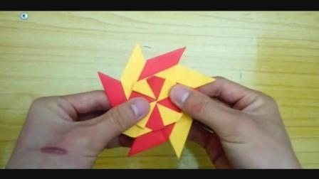 儿童趣味手工折纸: 指尖陀螺, 转的飞起!
