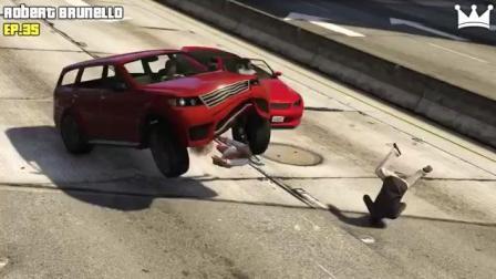 侠盗飞车GTA 5最佳意外!