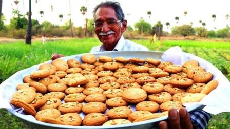 印度大爷又出来做善事了, 800块买材料做饼干, 这种做法我无话可说