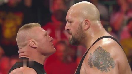 """WWE""""野兽""""大布被大秀哥羞辱, 灰头灰脸地逃走, 真是太丢脸了"""