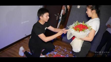 武汉电影院求婚MV, 超浪漫感人快闪求婚