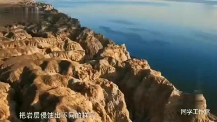 航拍: 神话般的福海县奇观——海上魔鬼城
