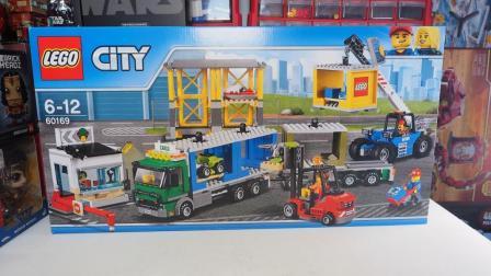 乐高城市: 乐高LEGO 60169货运港口评测