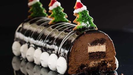 法国节日必备甜品蛋糕: Yulelog, 把你的坏心情一扫而光!