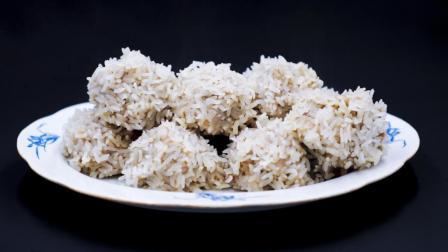 饭店大厨教您做有机米饭团, 一盘上来根本不够吃, 家庭聚餐必备!