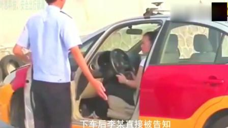 驾校科目二考试, 监考老师看到女学员全过程作弊! 笑到不行?