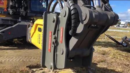 德国挖掘机如何能做到3秒就能换铲斗? 看完原理图后不得不服!