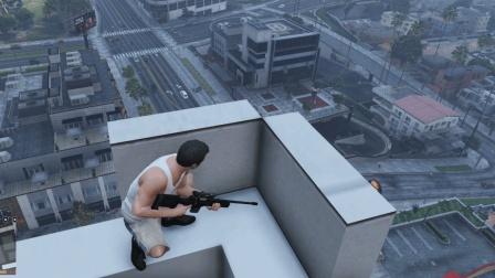 GTA5 在洛杉矶狙击枪刺杀警察会有什么后果