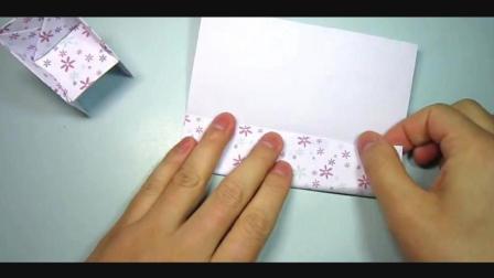 儿童趣味手工折纸: 一分钟折小椅子, 简单好玩!