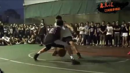 带你看下街头篮球赵强的运球! 中国篮球超强控卫技术