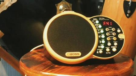 Boss DR01原声鼓机练习器介绍与评测