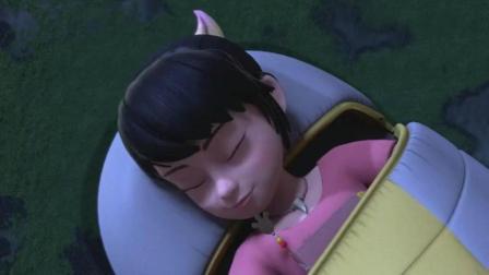 熊出没 大马猴半夜企图偷走赵琳日记 却被神秘来客阻止