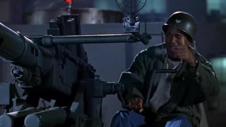 白头神探搞笑枪战, 辛普森把手枪组装成大炮, 比周星驰还无厘头