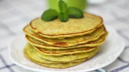 一根香蕉 一个鸡蛋 一点面粉, 制作出香甜软的香蕉鸡蛋饼, 小孩子超级喜欢吃
