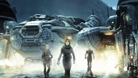 几分钟看完美国最受欢迎科幻恐怖片《异形契约》, 异形怪胎几乎毁灭人类!