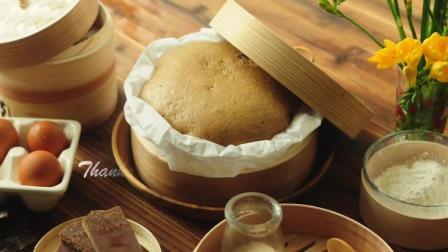 酵母马拉糕 没有泡打粉 小苏打 吉士粉 人工香料 Cantonese Steamed Sponge Cake