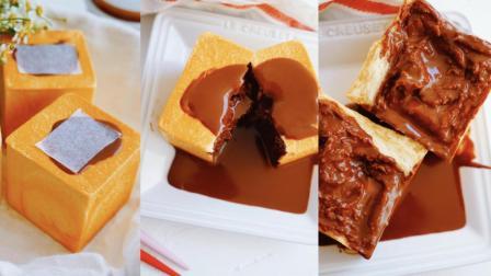 我的日常料理 第一季 超详细步骤教你制作风靡韩国的爆浆吐司 巧克力爆浆小吐司