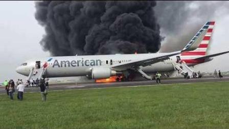 当飞机起火了该怎么做