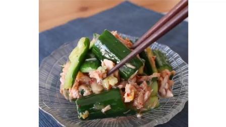 日式小菜, 泡菜黄瓜搭配鸡胸肉很美味