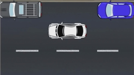 停车还不熟练? 教您一招, 如何精准停好车!