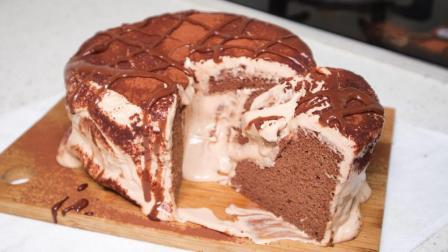 """""""爆浆""""的巧克力蛋糕, 网红脏脏系列又出新品啦!"""