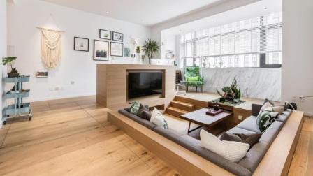 上海夫妇撬开地板、把卧室悬空, 60㎡小家变豪宅!