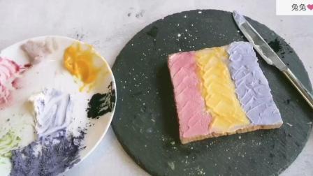 两片面包画出彩虹, 教你做优化吐司, 超吃好看特别简单