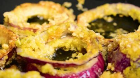 一个鸡蛋一个面包, 2分钟学会黄金洋葱卷, 外酥里嫩上桌就抢