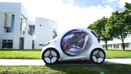 新能源混合动力汽车, 摩托车一样小, 解决停车难的问题!