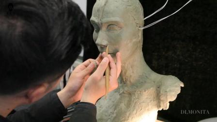 蒙妮坦特技化妆造型之生物雕塑设计